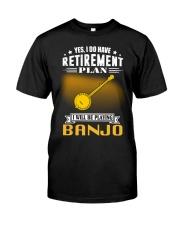 RETIREMENT BANJO Classic T-Shirt front