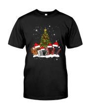 TREE CHRISTMAS ACCORDION Classic T-Shirt front