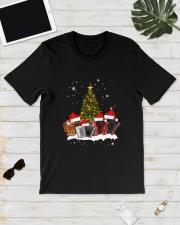 TREE CHRISTMAS ACCORDION Classic T-Shirt lifestyle-mens-crewneck-front-17