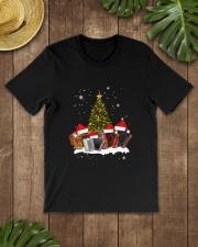 TREE CHRISTMAS ACCORDION Classic T-Shirt lifestyle-mens-crewneck-front-18