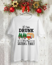 CAMPING MY SISTER FAULT Classic T-Shirt lifestyle-holiday-crewneck-front-2