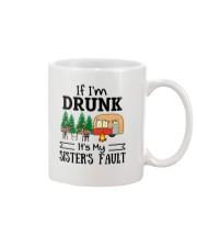 CAMPING MY SISTER FAULT Mug thumbnail