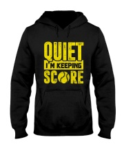 SOFTBALL QIUET SCORE CHUAN Hooded Sweatshirt thumbnail