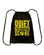 SOFTBALL QIUET SCORE CHUAN Drawstring Bag thumbnail