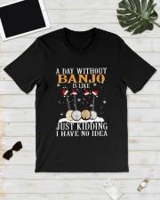 JUST KIDDING BANJO Classic T-Shirt lifestyle-mens-crewneck-front-17