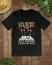 JUST KIDDING BANJO Classic T-Shirt lifestyle-mens-crewneck-front-18