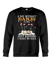 JUST KIDDING BANJO Crewneck Sweatshirt thumbnail