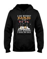 JUST KIDDING BANJO Hooded Sweatshirt thumbnail