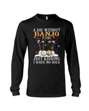 JUST KIDDING BANJO Long Sleeve Tee thumbnail