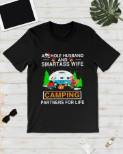 SMARTASS WIFE CAMPING Classic T-Shirt lifestyle-mens-crewneck-front-17