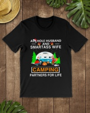 SMARTASS WIFE CAMPING Classic T-Shirt lifestyle-mens-crewneck-front-18