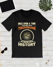 I PICK UP A TROMBONE Classic T-Shirt lifestyle-mens-crewneck-front-17
