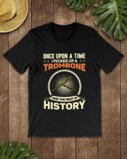I PICK UP A TROMBONE Classic T-Shirt lifestyle-mens-crewneck-front-18