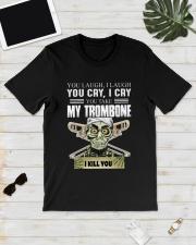 LAUGH CRY TROMBONE Classic T-Shirt lifestyle-mens-crewneck-front-17