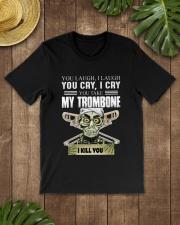 LAUGH CRY TROMBONE Classic T-Shirt lifestyle-mens-crewneck-front-18