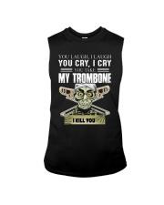 LAUGH CRY TROMBONE Sleeveless Tee thumbnail
