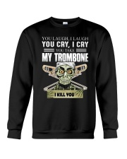 LAUGH CRY TROMBONE Crewneck Sweatshirt thumbnail