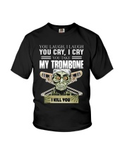 LAUGH CRY TROMBONE Youth T-Shirt thumbnail