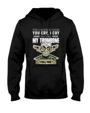 LAUGH CRY TROMBONE Hooded Sweatshirt thumbnail