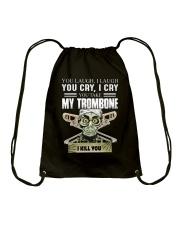 LAUGH CRY TROMBONE Drawstring Bag thumbnail