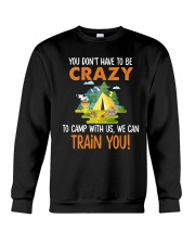 CAMPING TRAIN YOU Crewneck Sweatshirt thumbnail