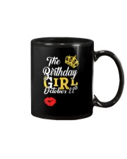 OCTOBER BIRTHDAY GIRL Mug thumbnail