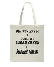KIDS MAMASAURUS Tote Bag thumbnail