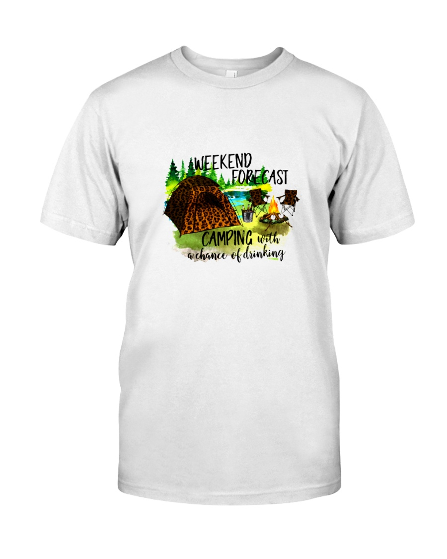 CAMPING WEEKEND FORECAST Classic T-Shirt