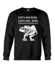 LET EAT KIDS Crewneck Sweatshirt thumbnail