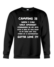 CAMPING IS Crewneck Sweatshirt thumbnail