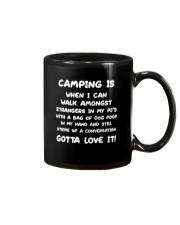 CAMPING IS Mug thumbnail