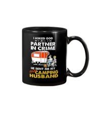 CRIME CAMPING HUSBAND Mug thumbnail