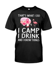 I CAMP I DRINK Classic T-Shirt thumbnail