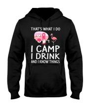 I CAMP I DRINK Hooded Sweatshirt thumbnail