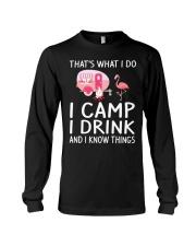 I CAMP I DRINK Long Sleeve Tee thumbnail