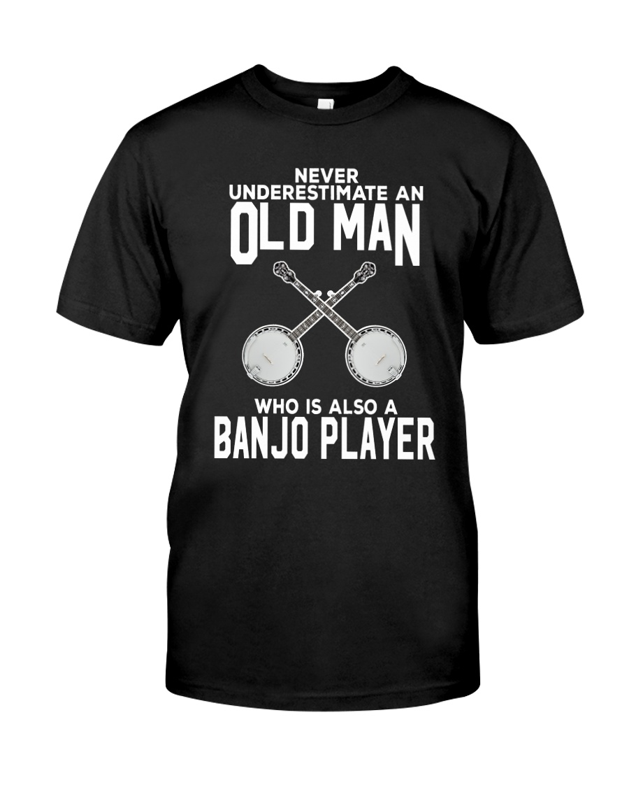 OLD MAN ALSO BANJO Classic T-Shirt