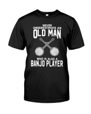 OLD MAN ALSO BANJO Classic T-Shirt front