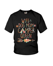 WIFE MOM CAMPER Youth T-Shirt thumbnail
