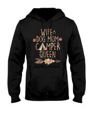 WIFE MOM CAMPER Hooded Sweatshirt thumbnail