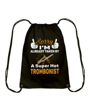 SUPER HOT TROMBONE Drawstring Bag thumbnail