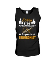 SUPER HOT TROMBONE Unisex Tank tile