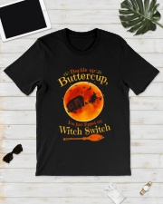 CAMPING WITCH SWITCH Classic T-Shirt lifestyle-mens-crewneck-front-17