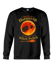 CAMPING WITCH SWITCH Crewneck Sweatshirt thumbnail