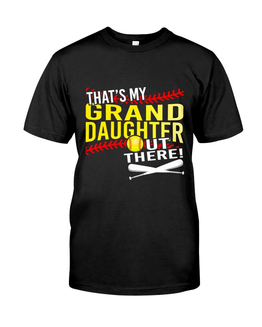 GRAND DAUGHTER SOFTBALL Classic T-Shirt