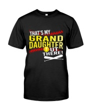 GRAND DAUGHTER SOFTBALL Classic T-Shirt front