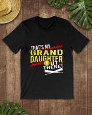 GRAND DAUGHTER SOFTBALL Classic T-Shirt lifestyle-mens-crewneck-front-18