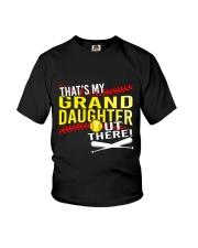 GRAND DAUGHTER SOFTBALL Youth T-Shirt thumbnail