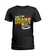 GRAND DAUGHTER SOFTBALL Ladies T-Shirt thumbnail