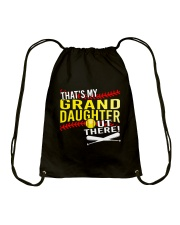 GRAND DAUGHTER SOFTBALL Drawstring Bag thumbnail
