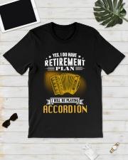 RETIREMENT ACCORDION Classic T-Shirt lifestyle-mens-crewneck-front-17